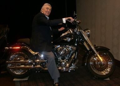 Howard Zeiden on motorcycle