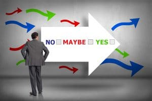 no-maybe-yes marketing flow